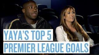 Yaya Toure's Top 5 Premier League Goals