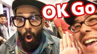 あの「OK Go」さんとハイタッチしてきた!
