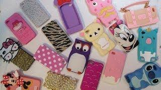 Minha Coleção de Capinhas/Cases para Iphone 4/4s