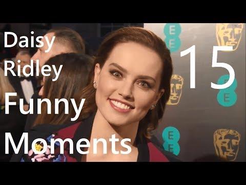 Daisy Ridley Funny Moments 15