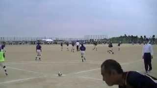 児島マーリンズ VS 倉敷マスカット H26全国フットベースボール大会