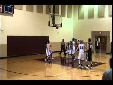 Chase Davis - Garland Christian Academy Basketball 2011-2012