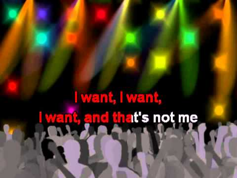I Want, with lyrics - One Direction Karaoke