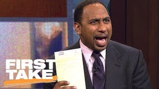 Download Stephen A. Smith responds to J.R. Smith's clap-back | First Take | ESPN Mp3 and Videos