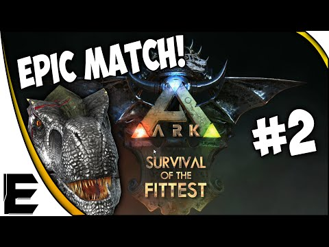 ARK Survival of the Fittest SOTF ➤ EPIC MATCH! T-REX & CARNO JOIN THE ARMY [Part 2]