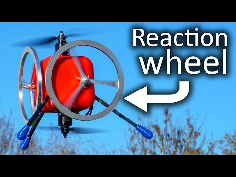 Can Reaction Wheels control a Drone?