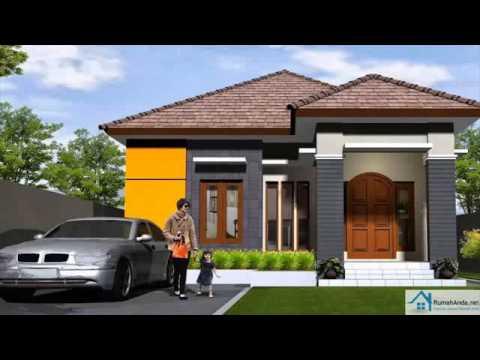 & desain rumah ukuran 10x15 - YouTube