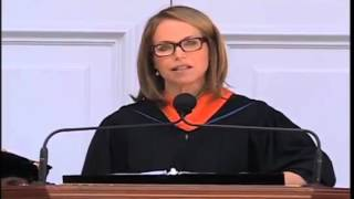 Katie Couric at The University of Virginia 2012 Commencement Address - Part 1