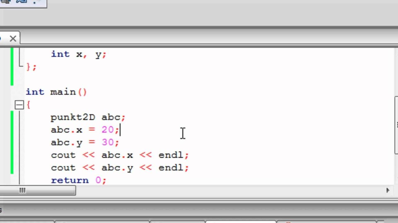 Kurs C++ 29: Struktury
