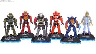 Mega Construx Halo Heroes Series 8 review
