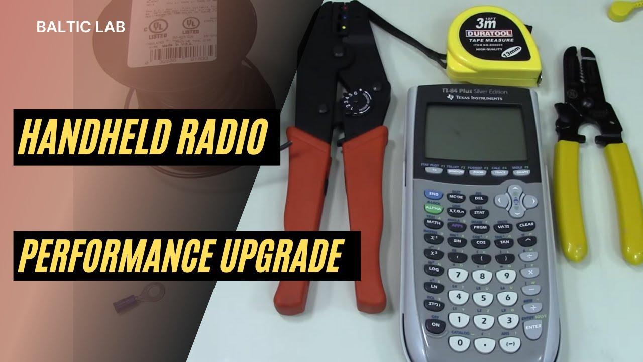 Tiger / Rat Tail for Handheld Radios | DB6SW (KF5OBS)