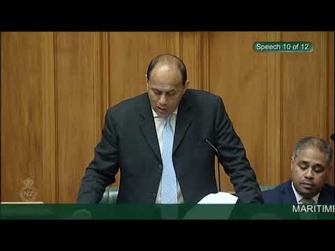 Maritime Crimes Amendment Bill - Third Reading - Video 12