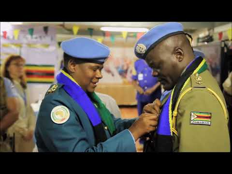 UNAMID - United Nations police in the African Union/United Nations Hybrid operation in Darfur
