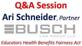 Chapter 78 Relief Bill - Q&A with Busch Law Group & Treadstone Risk Management