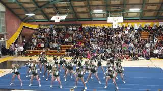 SMHS Varsity Cheer - Halftime vs Novato 12-4-2018