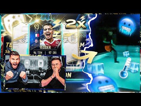 Wir haben 2x Prime ICON Moments + BEN YEDDER TOTS GEZOGEN 😱😳 SPRUNG in EISKALTEN POOL 🥶 FIFA 21