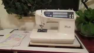 Roberts Electric Lift Sewing Machine Cabinet With Brother Pc-2800 Sewing Machine