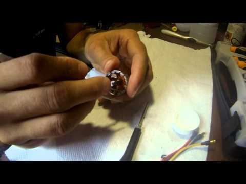 How to clean or disassemble brushless motor
