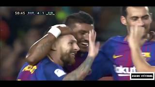 Sergio Busquets - The Boss Of Midfielders - 2017/2018 HD
