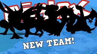 TESTING MY NEW RARE SHINY EV TRAINED TEAM!!! | Roblox Pokemon Brick Bronze