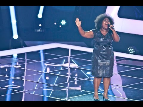 "Deolinda Kinzimba - ""I have nothing""  Provas Cegas  The Voice Portugal  Season 3"