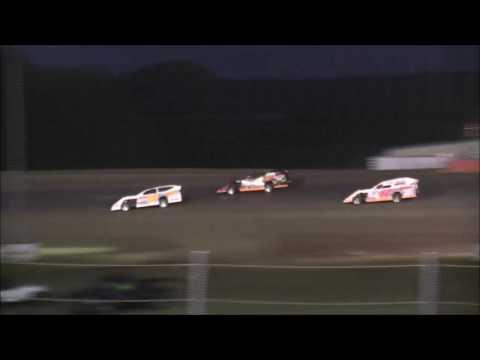 Salina HighBanks Speedway  Modified Heat #3  Fb 6-30-17