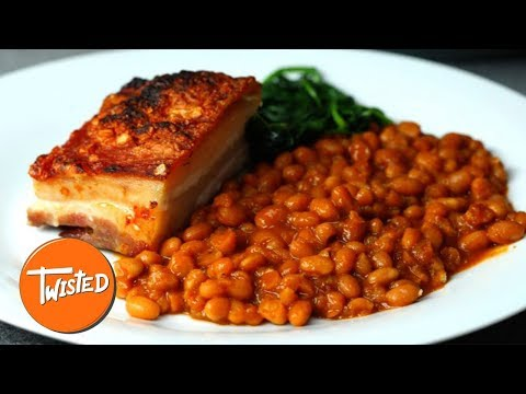 Slow Cooked Pork And Boston Beans Recipe | Weeknight Dinner Ideas | Twisted