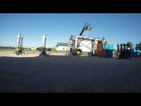 Rotor Removal System Platform Setup | Enerpac
