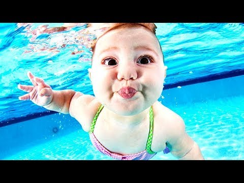 Best WATER MOMENTS with KIDS! - Super FUNNY, COOL and CHILLING SUMMER babies COMPILATION