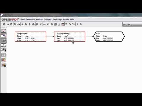 OpenProj - Installation und erste Schritte