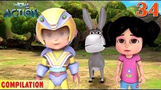 Vir : The Robot Boy | Vir Action Collection - 34 | Action series | WowKidz Action