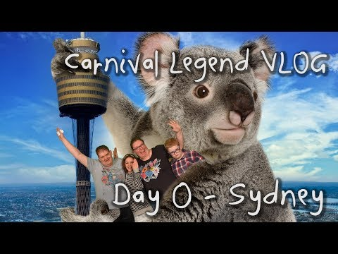 Carnival Legend Cruise VLOG (New Caledonia) Day 0 - Sydney (Nov 2017)