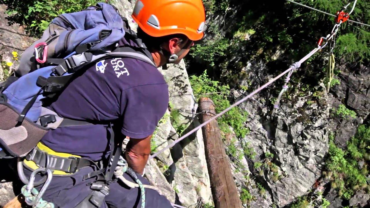 Fürenwand Klettersteig Unfall : Klettersteig via ferrata aletsch youtube