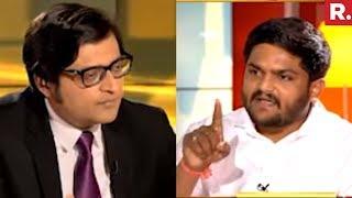 Hardik Patel On PM Modi's Assassination Plot | Nation Wants To Know With Arnab Goswami