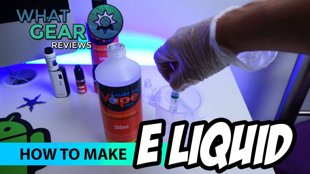 How to make Vape Juice - Beginners