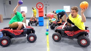 INDOOR TOY CAR DODGEBALL!