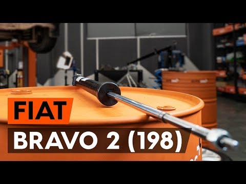 How To Change Rear Shock Absorber On FIAT BRAVO 2 (198)  [TUTORIAL AUTODOC]