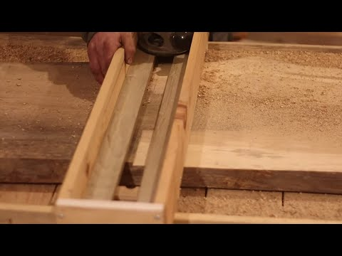 Easy Router Sled Setup For Surfacing Live Edge Slabs For Woodworking Youtube