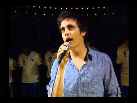 Will Anderson (frontman of Parachute) National Anthem - Orlando Magic v. Charlotte Bobcats