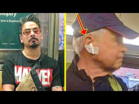 The Funniest Things Spotted On The Subway