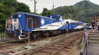 【鉄道のある風景】トロッコ列車 奥出雲おろち号 実りの秋 [2]午後便 (15-Sep-2019)