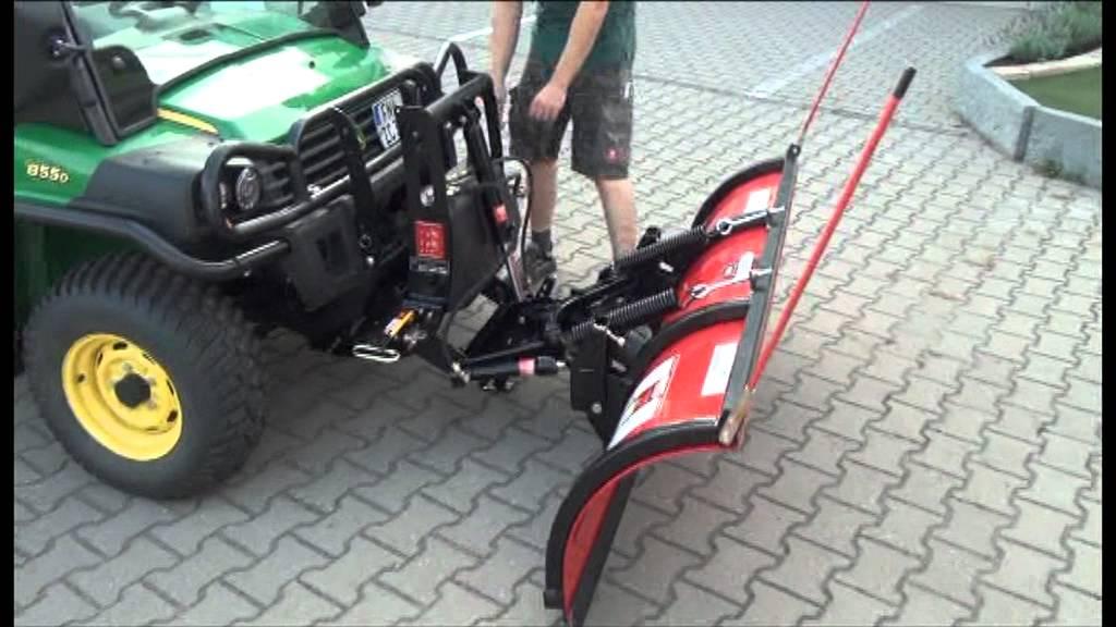 John Deere Gator Plow >> John Deere Gator XUV 855 D mit Boss Schneeschild bei ...