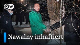 Putin Kritiker Alexej Nawalny per Eilverfahren zu 30 Tagen Haft verurteilt   DW Nachrichten