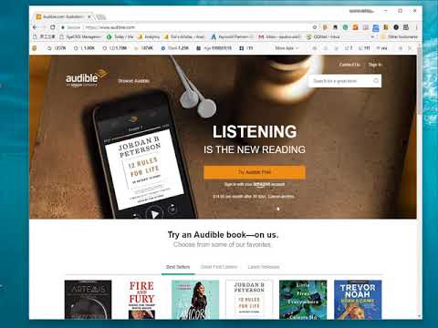 How to download Audible audiobooks on computer? - YouTube