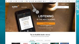 How to download Audible audiobooks on computer?