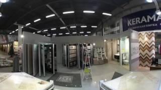 Обзор 360 фирменного шоу рума Kerama Marazzi в Столичном Дворе