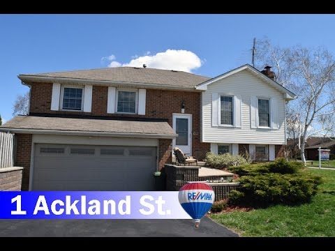 House for Sale 1 Ackland St. Stoney Creek, On