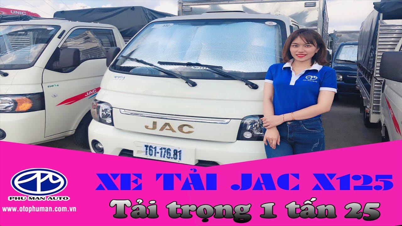 Sơ lược về xe tải JAC X125