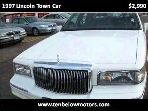 1997 Lincoln Town Car Used Cars White Bear Lake Mn Youtube