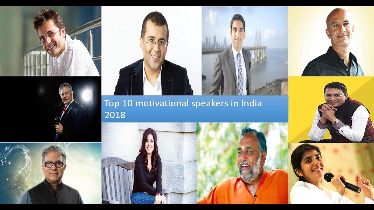 Top 10 motivational speakers in India 2018